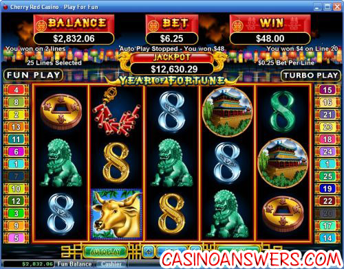 year of fortune video slot