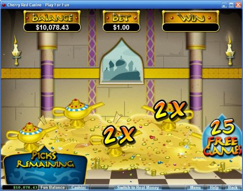 aladdins wishes video slot