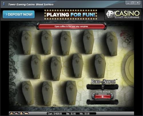 dracula casino game