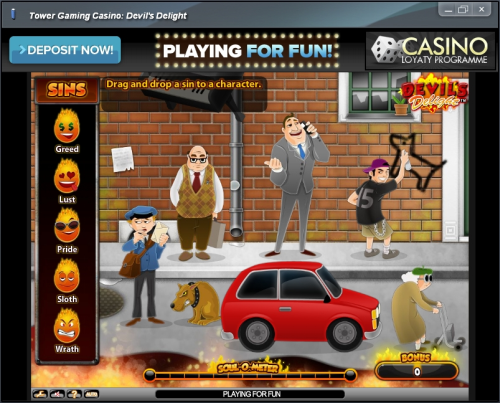 devils delight flash game