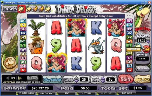 dino delight video slot