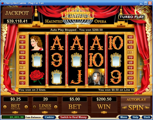 haunted opera video slot