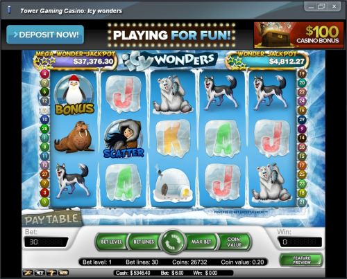 icy wonders net ent video slot