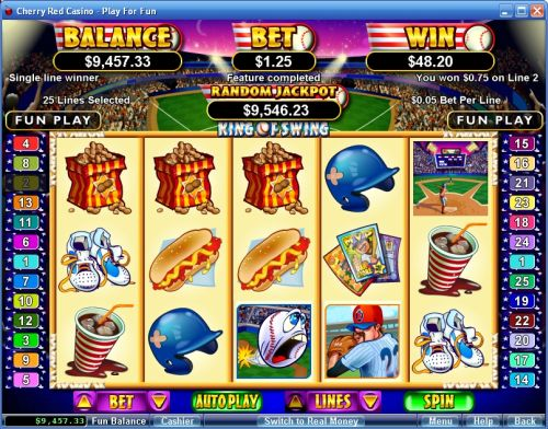 king of swing video slot