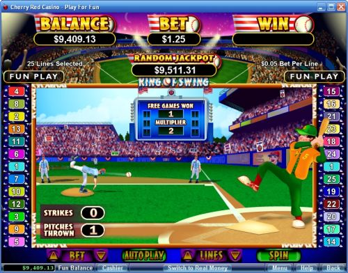 king of swing baseball slot