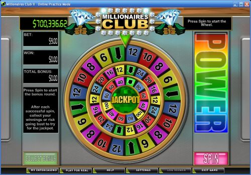millionaires club wheel