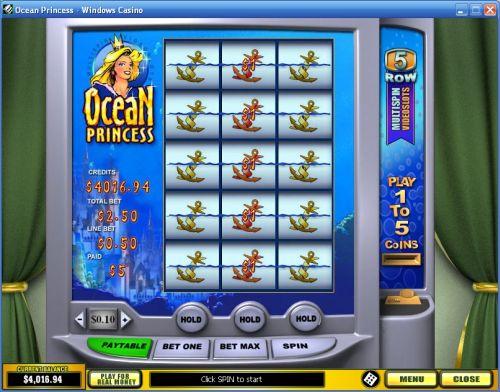 ocean princess video slot
