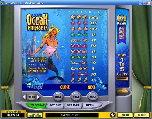 ocean princess casino flash game
