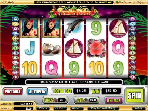 paradise riches video slot