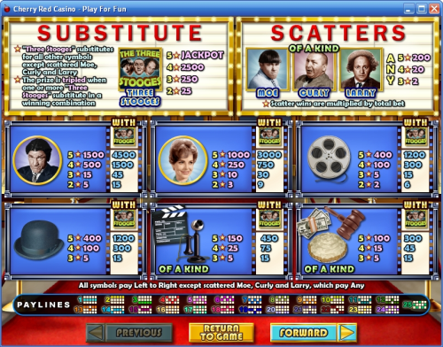 3 stooges casino flash game