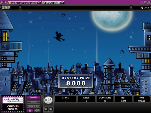 witch flash game