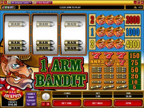 1 arm bandit