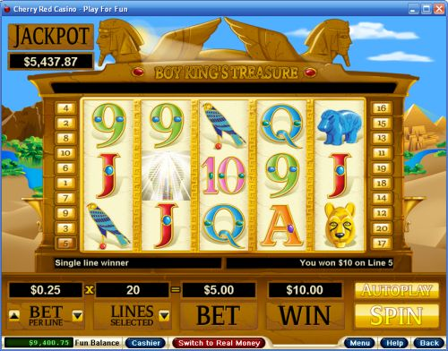 boy kings treasure video slot