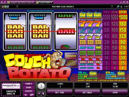 couch potato classic slot