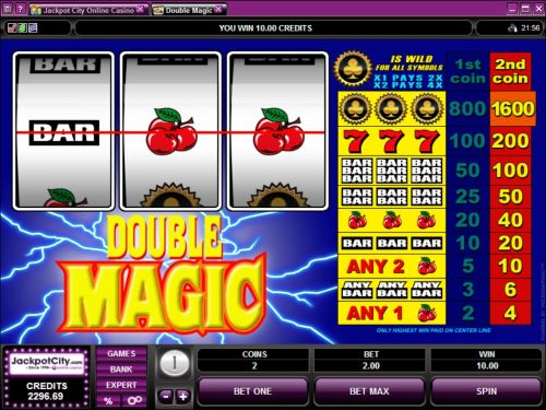 double magic classic slot