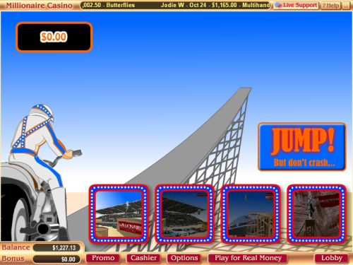 evil knievel flash game