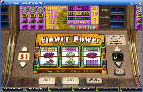 flower power classic crypto slot