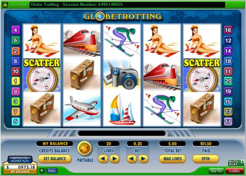 globe trotting video slot