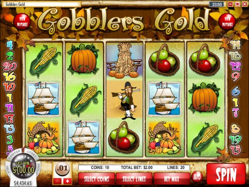 gobblers gold rival slot