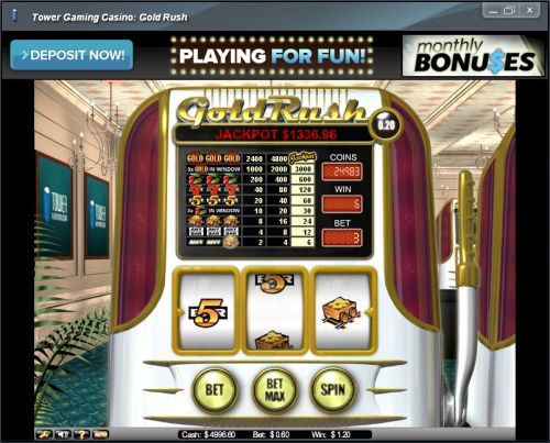 gold rush net ent slot