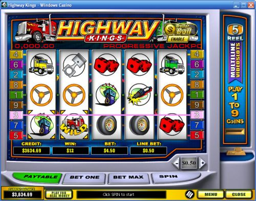 highway kings video slot
