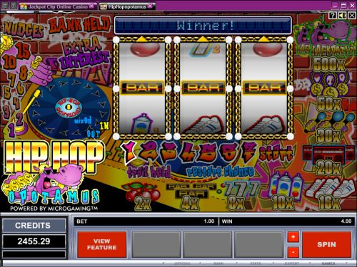 hiohopotamus fruit machine