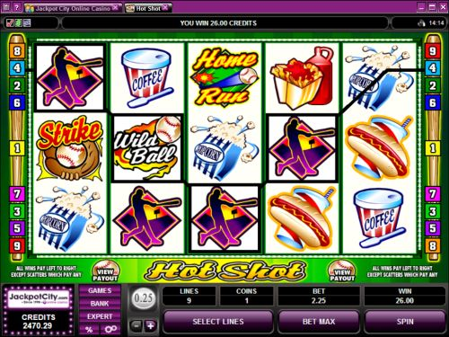 hot shot video slot