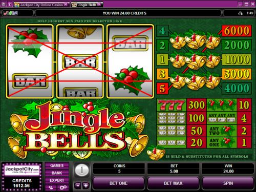 jingle bells classic slot