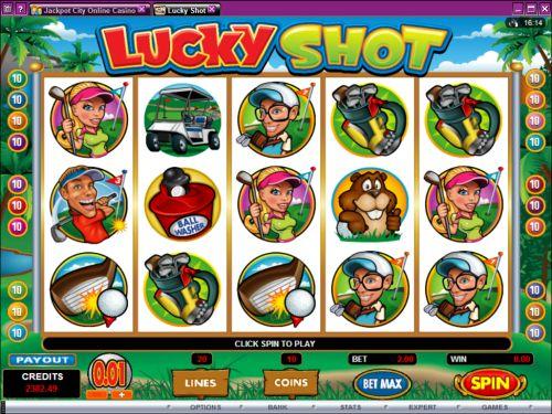 lucky shot video slot