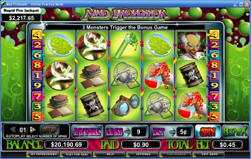 mad professor video slot