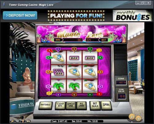 magic love classic slot