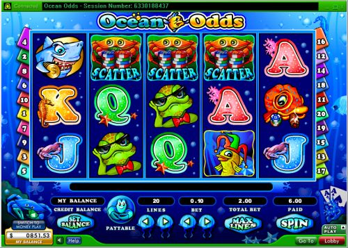 ocean odds randomlogic video slot