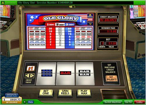 ole glory classic slot