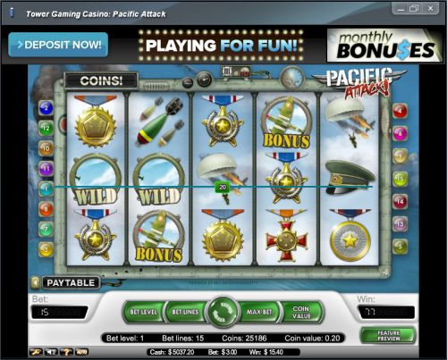 pacific attack net ent slot