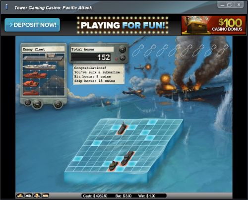 battleship flash game