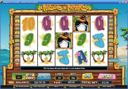 penguins in paradise crypto slot