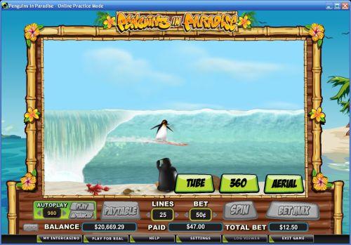 penguins flash game