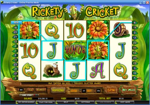 rickety cricket video slot