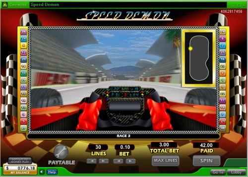 car racing gambling game