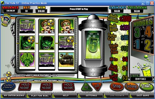 the hulk crypto fruit machine