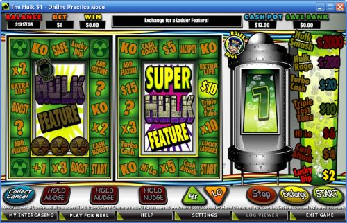 the hulk fruit machine game