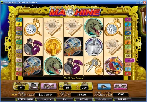 time machine video slot