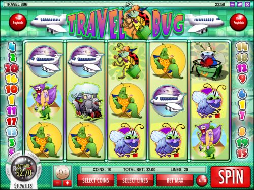 travel bug video slot