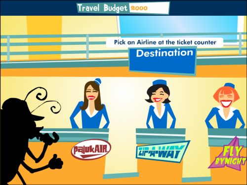 travel bug flash game