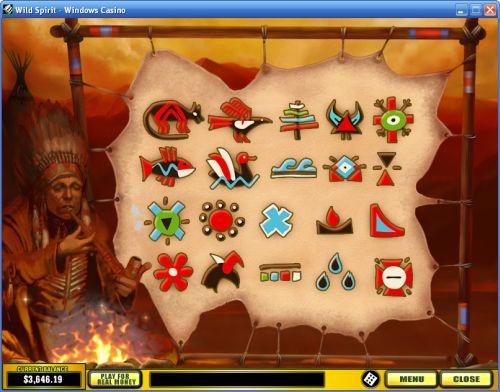 wild spirit casino game