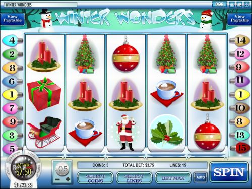winter wonders video slot