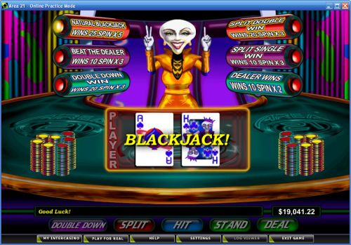 area 21 sci fi casino flash game