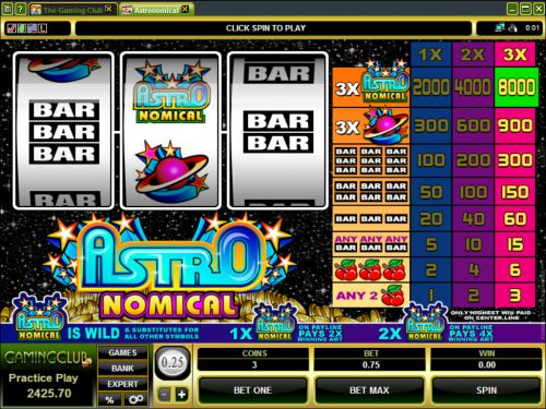 astronomical microgaming classic slot