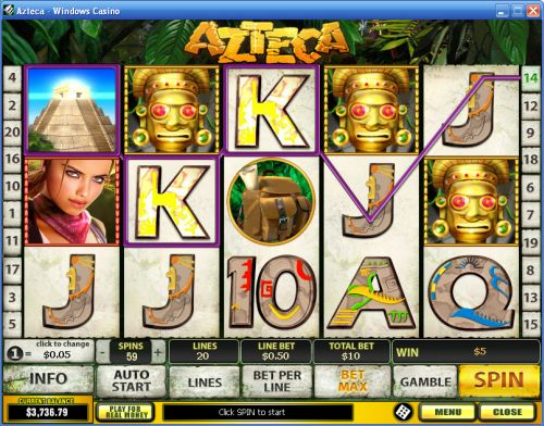 azteca slot machine value