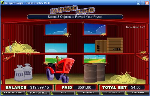 barnyard boogie video slot